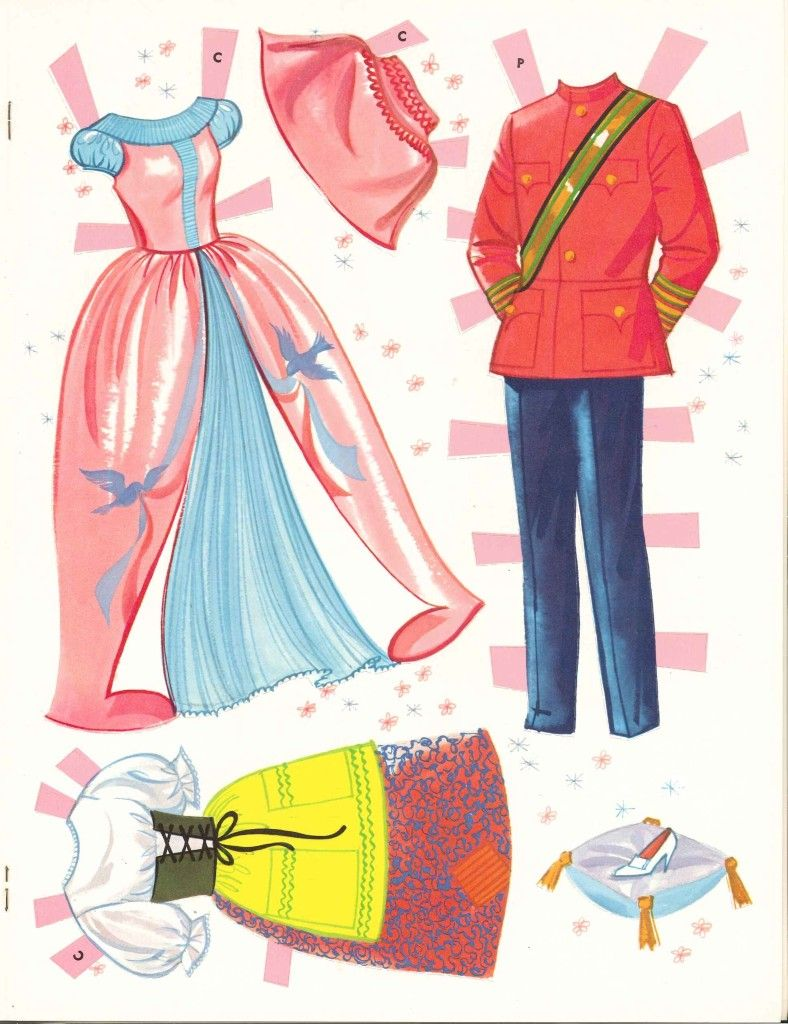 I had these Cinderella Paper dolls as a kid....love it they are free to print....card stock here I come!