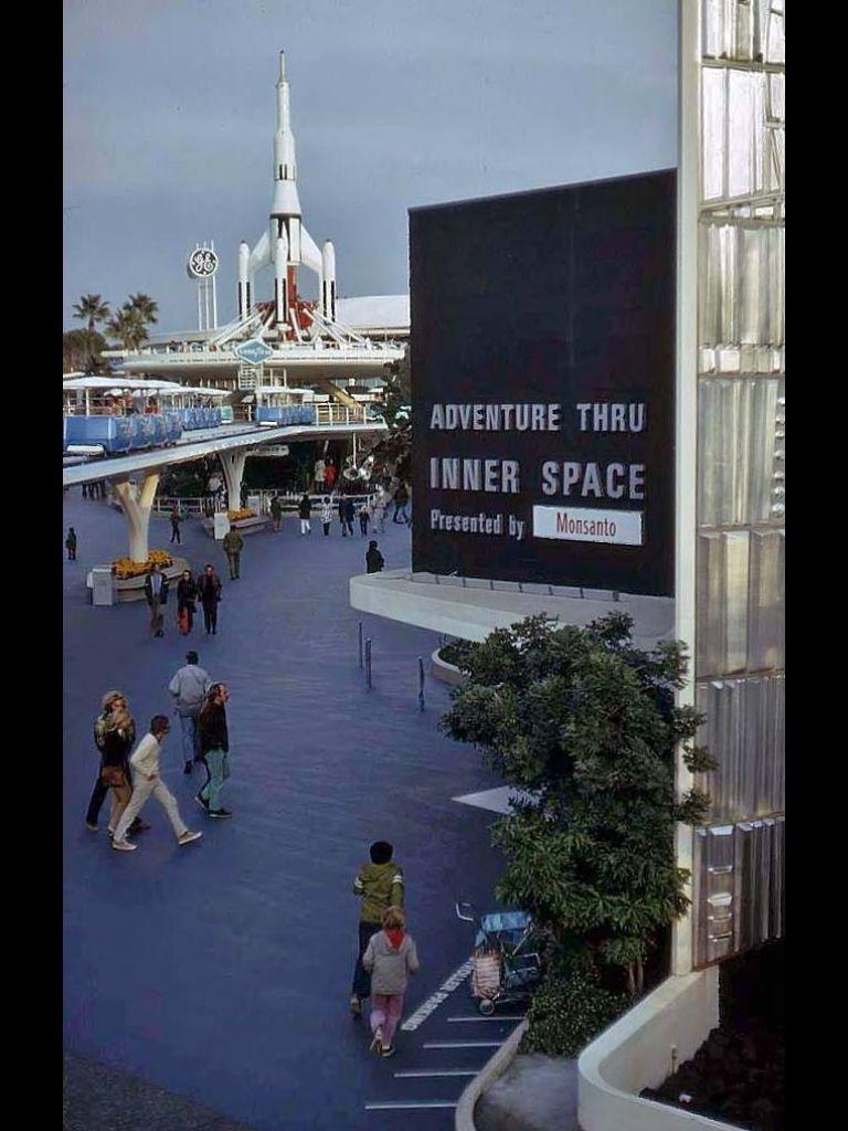 Inner Space Monsanto Magic Kingdom History Disneyland