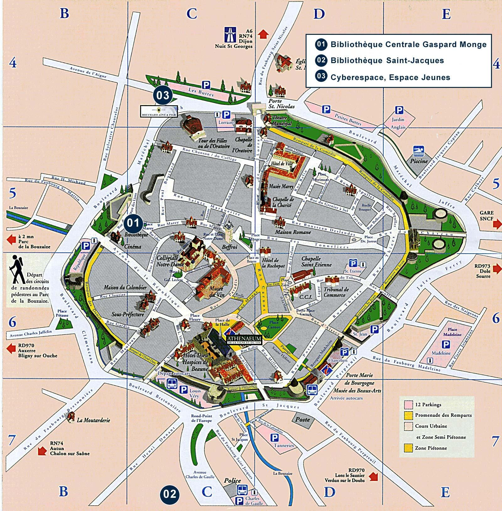 Map Of Beaune And Dijon France Google Search Avec Images