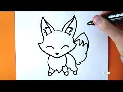 Desenho Facil Como Desenhar Uma Raposa Kawaii Chris