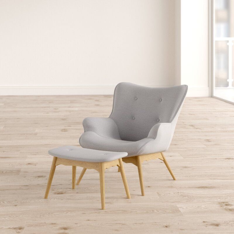Jolene Lounge Chair And Footstool In 2020 Chair Furniture Lounge