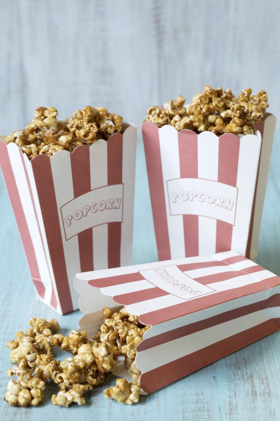 Caramel Popcorn (Refined Sugar Free, GlutenFree, Vegan