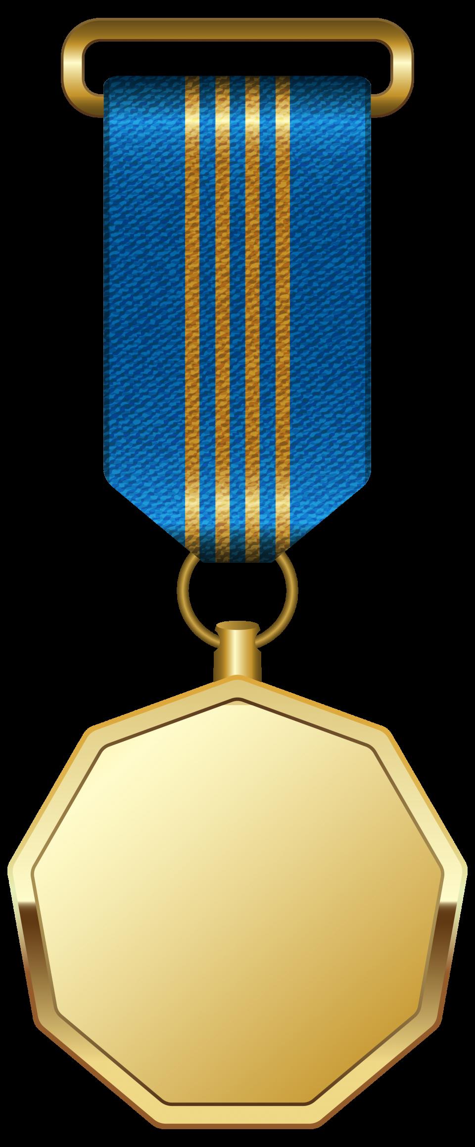 Gold Medal Png Image Ribbon Png Gold Medal Blue Ribbon
