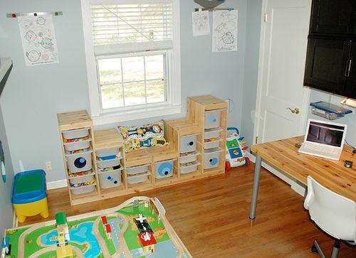 Kids Storage Bench Furniture Toy Box Bedroom Playroom: Storage Ideas For Kids Bedroom & Playroom
