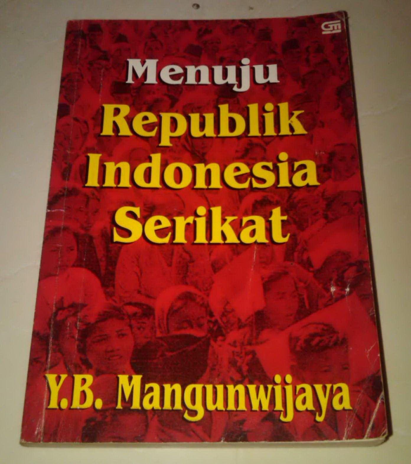 Menuju republik indonesia serikat Buku, Indonesia