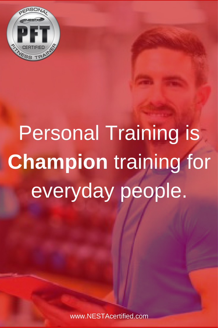 NESTA Certified Personal Fitness Trainer  Personal Training s