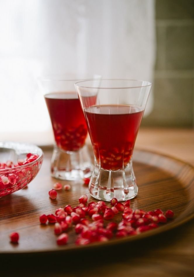 "Pomegranate ""Manhattan"" + A Tour of Treaty Oak Distilling ..."