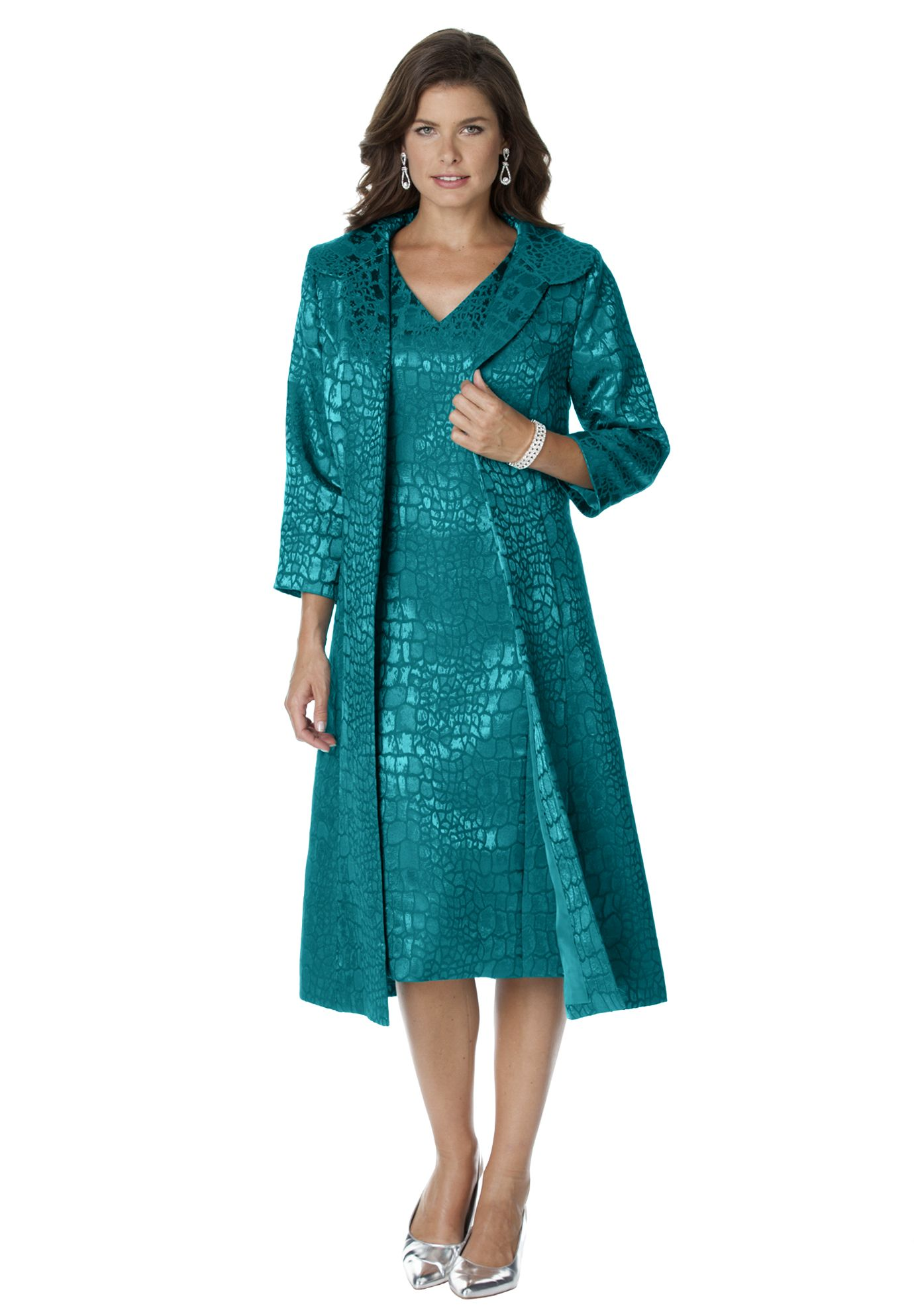 Plus Size Jacquard Jacket Dress Buy It Pinterest Confident