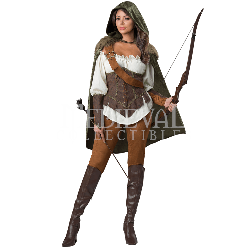 Enchanted Forest Huntress Deluxe Womens Costume - from Dark Knight Armoury  sc 1 st  Pinterest & Enchanted Forest Huntress Deluxe Womens Costume - IN-1139 by ...