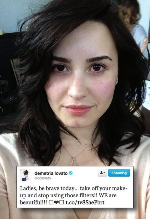 Wow. Stunning, beautiful, amazing, Incredible, and everything in between <3 Demi you have changed so many lives and helped so many people through tough times.  I couldn't ask for a better role model. We all love you to the moon and back Dem! Xxx <3  P.s. Im honestly crying right now because I just typed that while listening to For the love of a daughter and it's too much I can't handle this I need to sign off. P.P.S WE ARE ALL BEAUTIFUL-LISTEN TO DEMI. HAVE A GOOD DAY. I NEED TO STOP CRYING