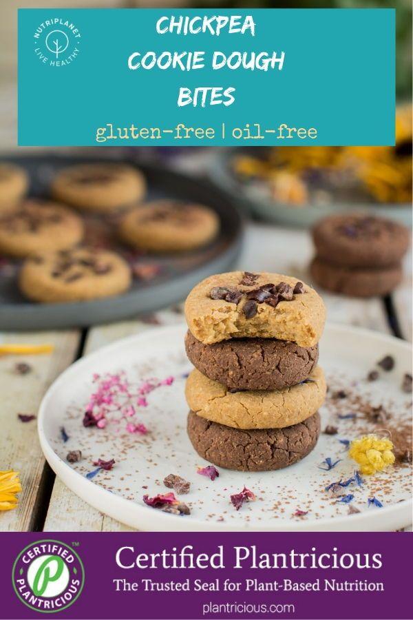 Vegan Chickpea Cookies [Gluten-Free]