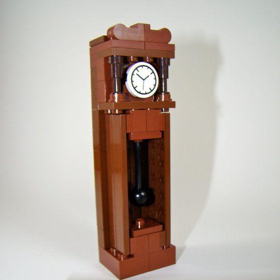 Instructions For Custom Designed Lego Model Grandfather Clock