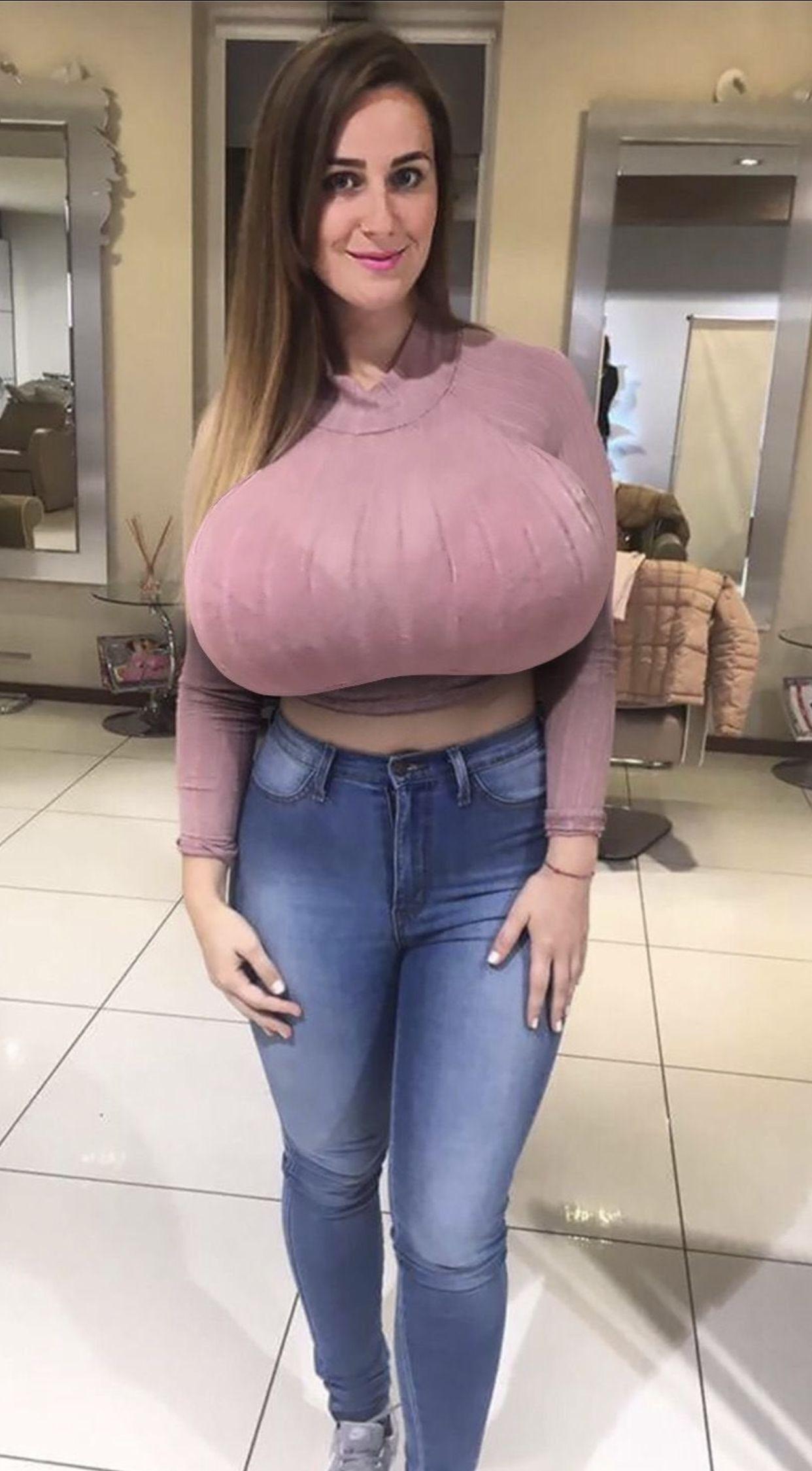 Busty Brunette Milf Threesome