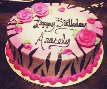 Loved my zebra cake :-)