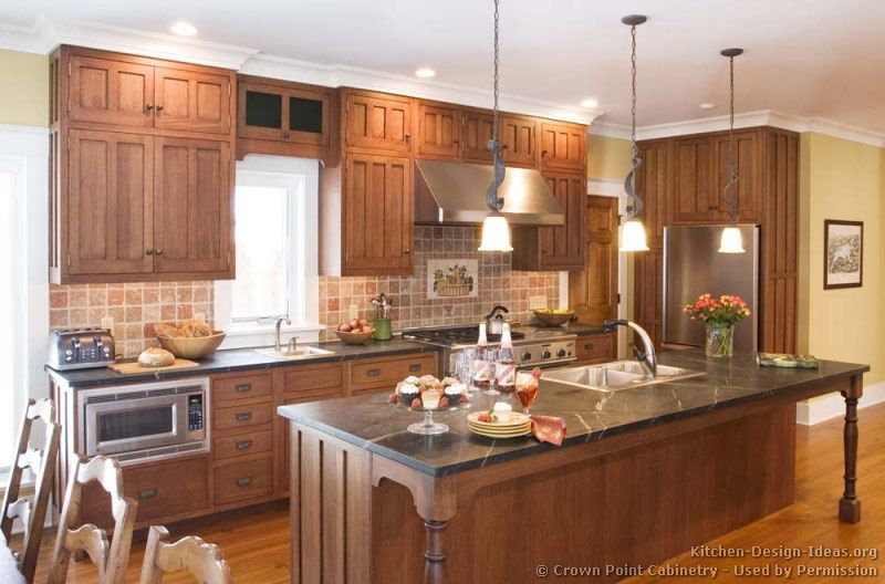 Craftsman Style Kitchens