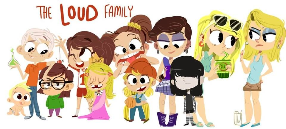 The Loud Family in Genndy Tartakovsky Style (or their prototype looks in  the upcoming movie \u0027\u0027The Loud House (film)\u0027\u0027 ?
