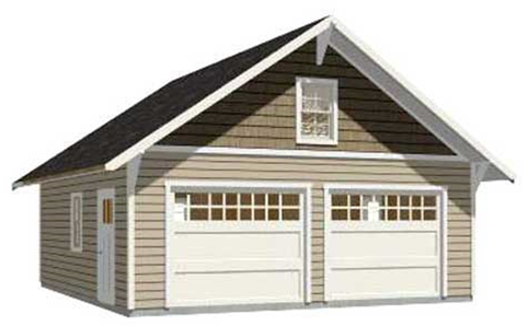 Pole barn garage designs garages pole buildings for 24x32 pole barn plans