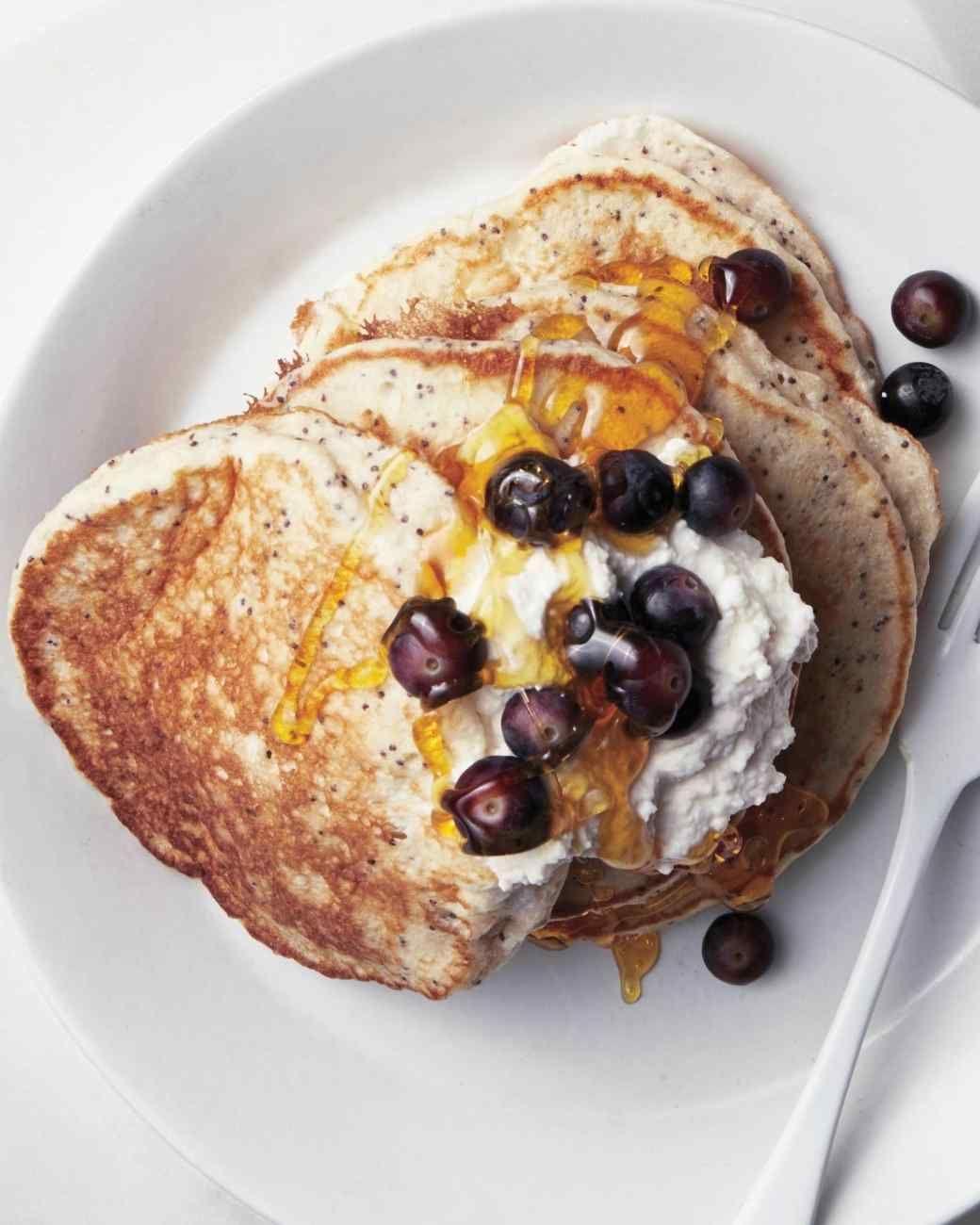Lemon-Poppy Seed Cloud Pancakes
