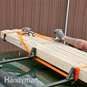 Strapping Lumber To Roof Rack