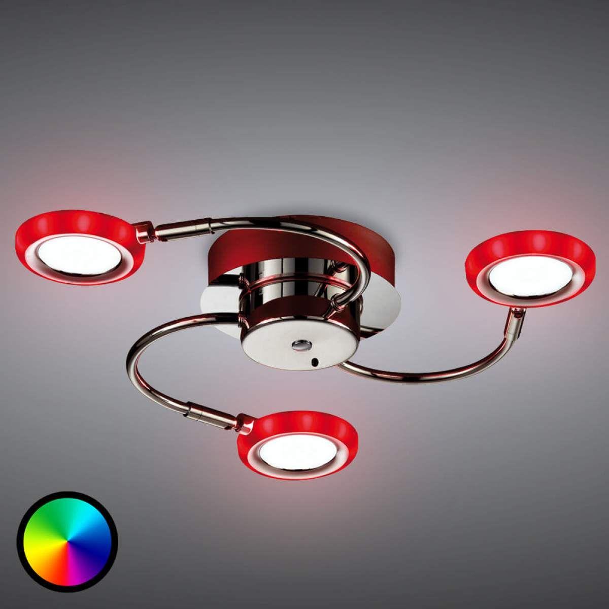 LED Deckenleuchte Turner, 3 flammig   Led deckenleuchte