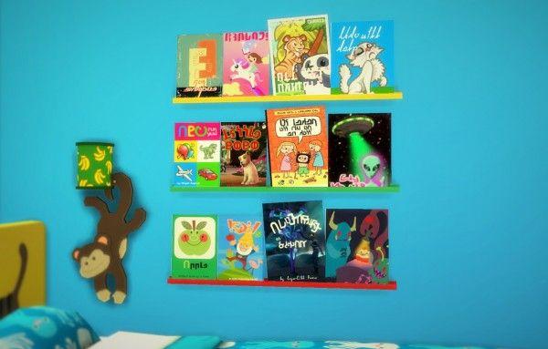 Budgie2budgie  Children s books • Sims 4 Downloads  8737b84d7