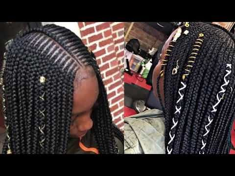 Trenzas Tribales Borgoña Oscuras  ##brundasytrenzasdecajanegra # burgundy fulani Braids Trenzas Tribales Borgoña Oscuras # ombre fulani Braids