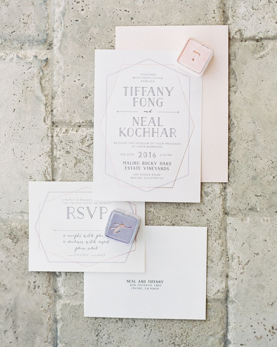 blush pink wedding invitations Pink Wedding