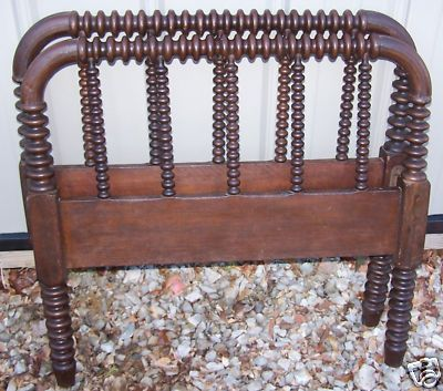 Beautiful Antique Jenny Lind Wood Spindle Spool Bed Spool Bed Jenny Lind Jenny Lind Bed