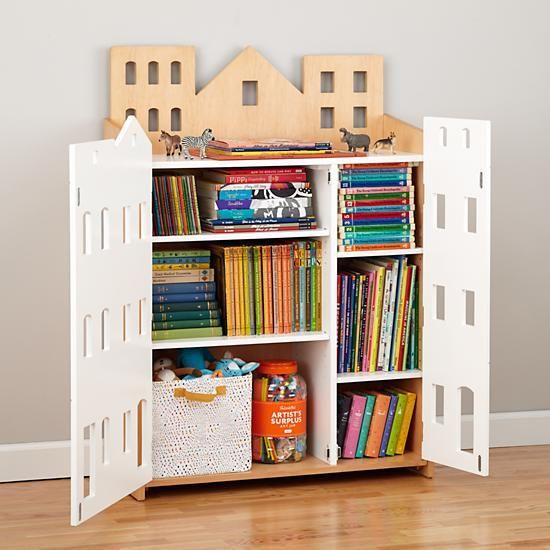 Brownstone Bookcase The Land Of Nod Bambini Libreria