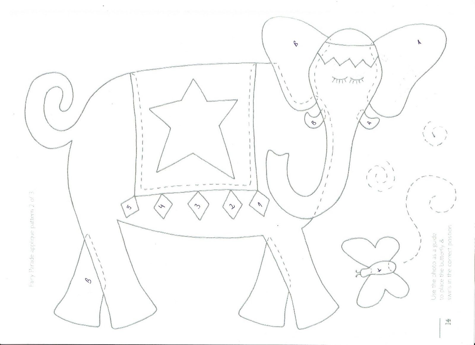 Maripê: Moldes de elefante
