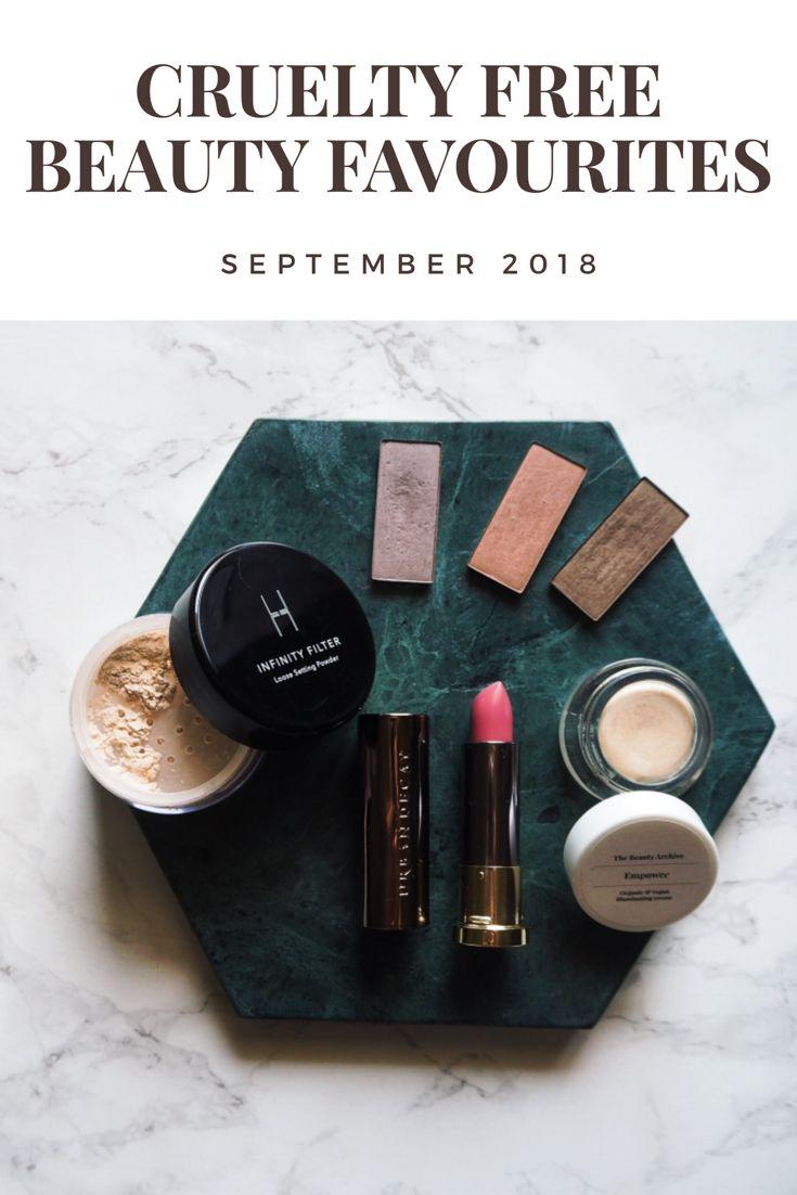 Cruelty Free Beauty Favoriten September 2018 Vegane