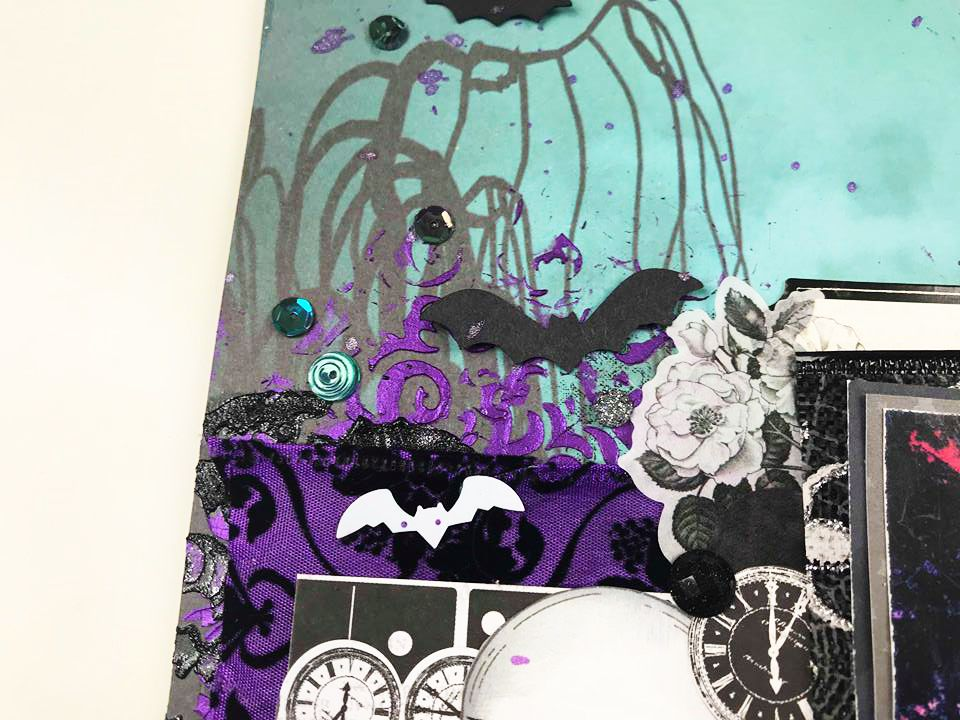 Catch The Bat Sbook Craft Supplies Sbooking Layouts