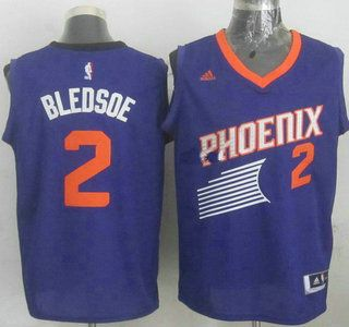 52ee0b488 Phoenix Suns Jersey 2 Eric Bledsoe Revolution 30 Swingman 2014 New Purple  Jerseys
