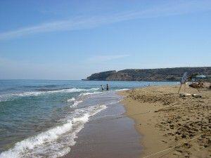 Der wunderschöne Strand in Skaleta auf Kreta. Besonders das Meer und seine Wassertemperatur waren sehr erholsam.