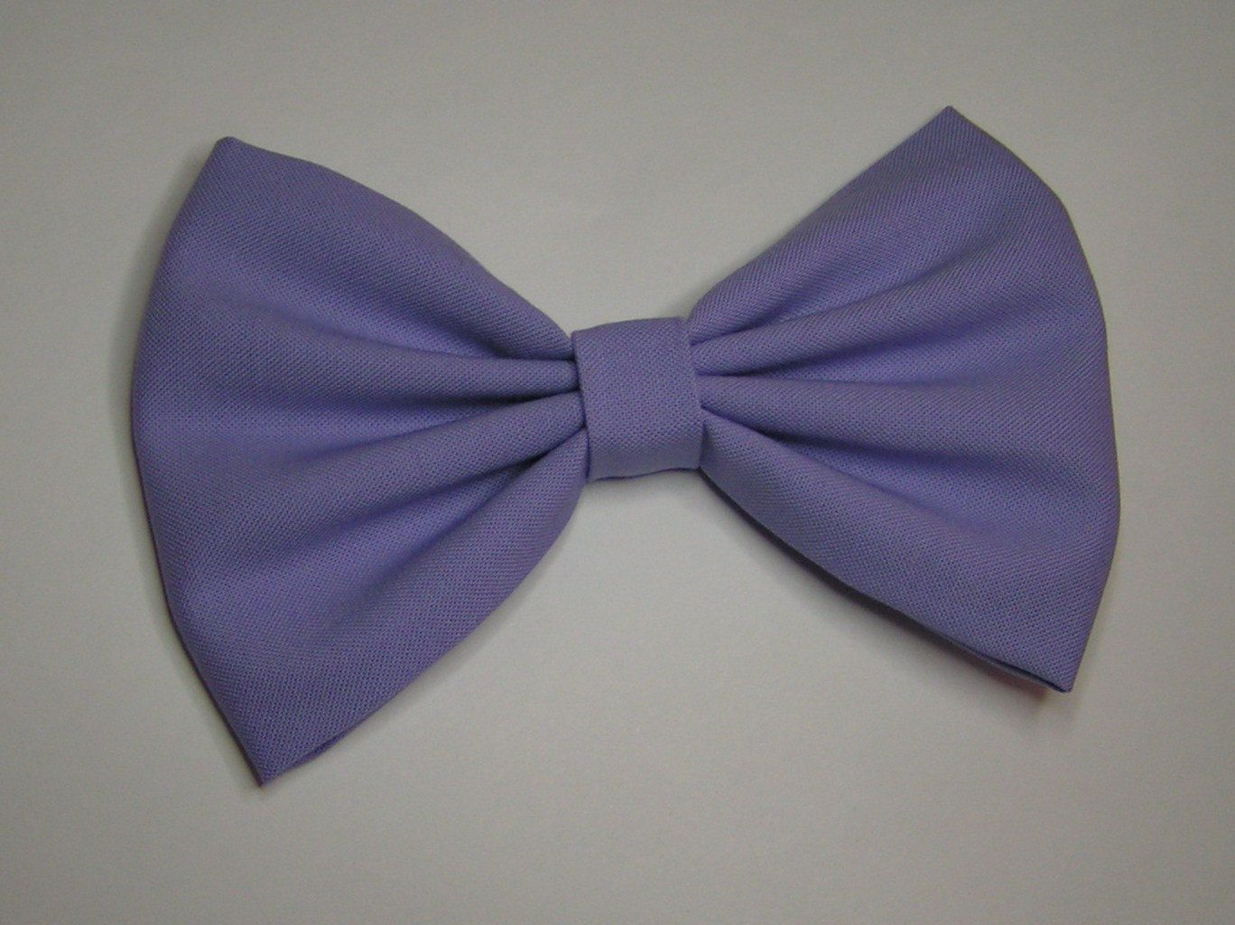 Lavender color Hair Bow, Fabric Hair Bow,Fabric Bow, Bows for Kids, Hair bows. $3.99, via Etsy.
