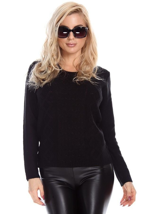 black sweaters#cable knit sweaters#scoopneck sweater#pullover ...