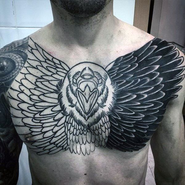 Top 103 Awesome Tattoo Ideas 2020 Inspiration Guide Cool Tattoos For Guys Tattoos For Guys Crow Tattoo Design