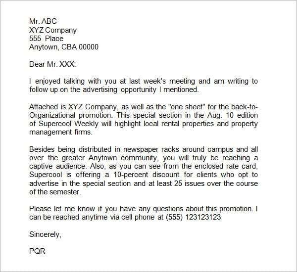 5+ Business Proposal Letter Templates