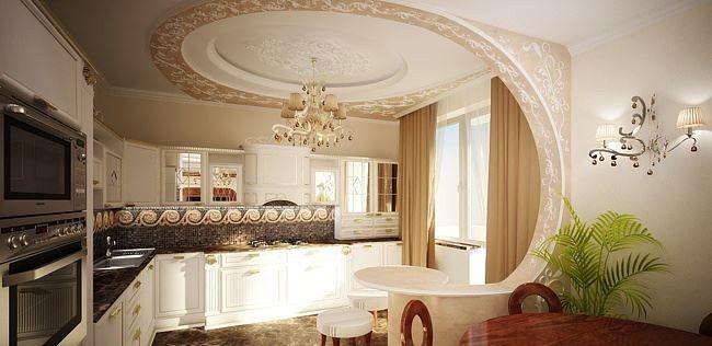Excellent mod le de faux plafond moderne decoration for Modele faux plafond design