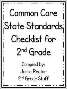 Common core- 2nd grade | Math | Pinterest | Common cores, Math and ...