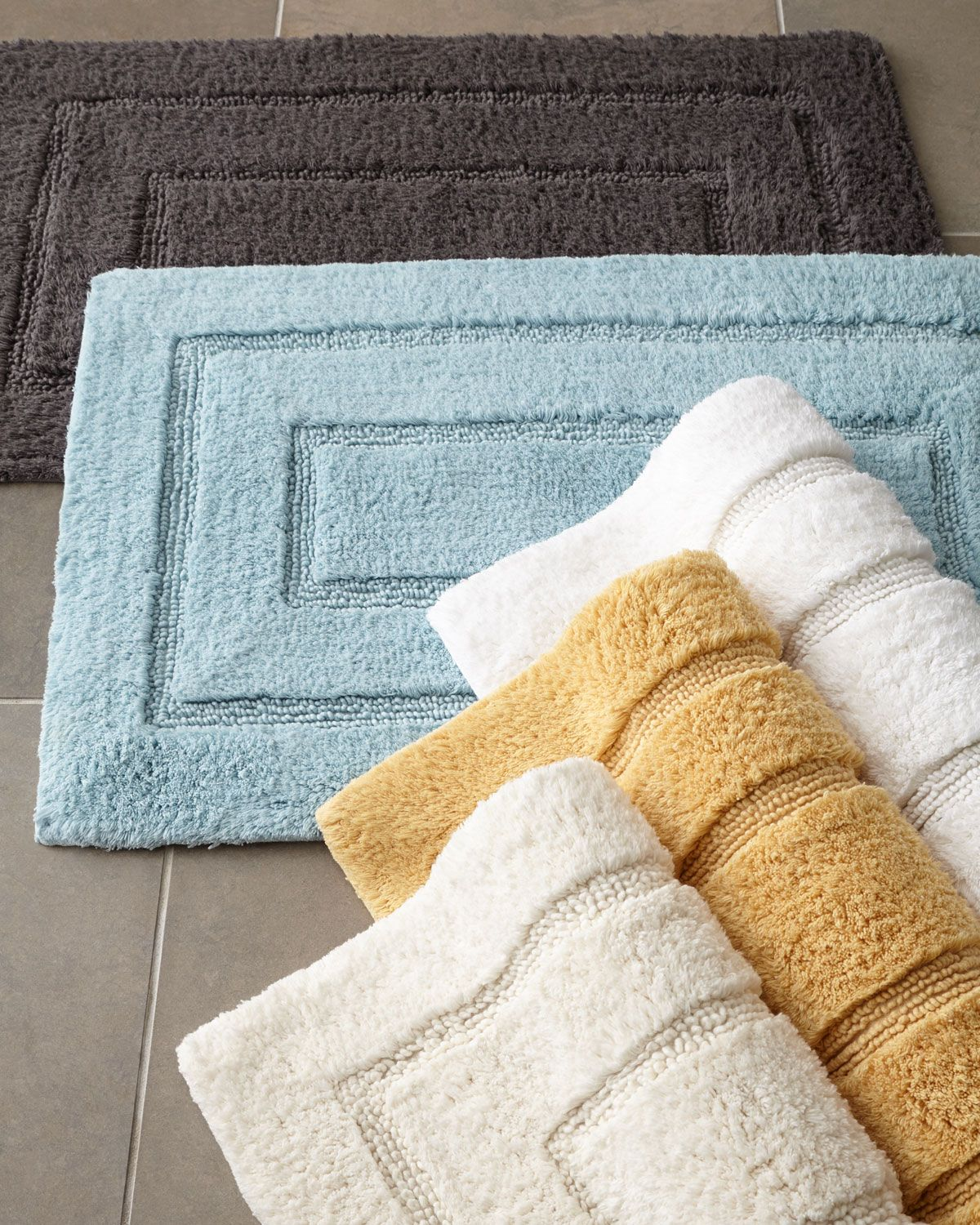 Bath Rug Set Walmart: Kassatex Tufted Cotton Bath Rug, 20 X 32