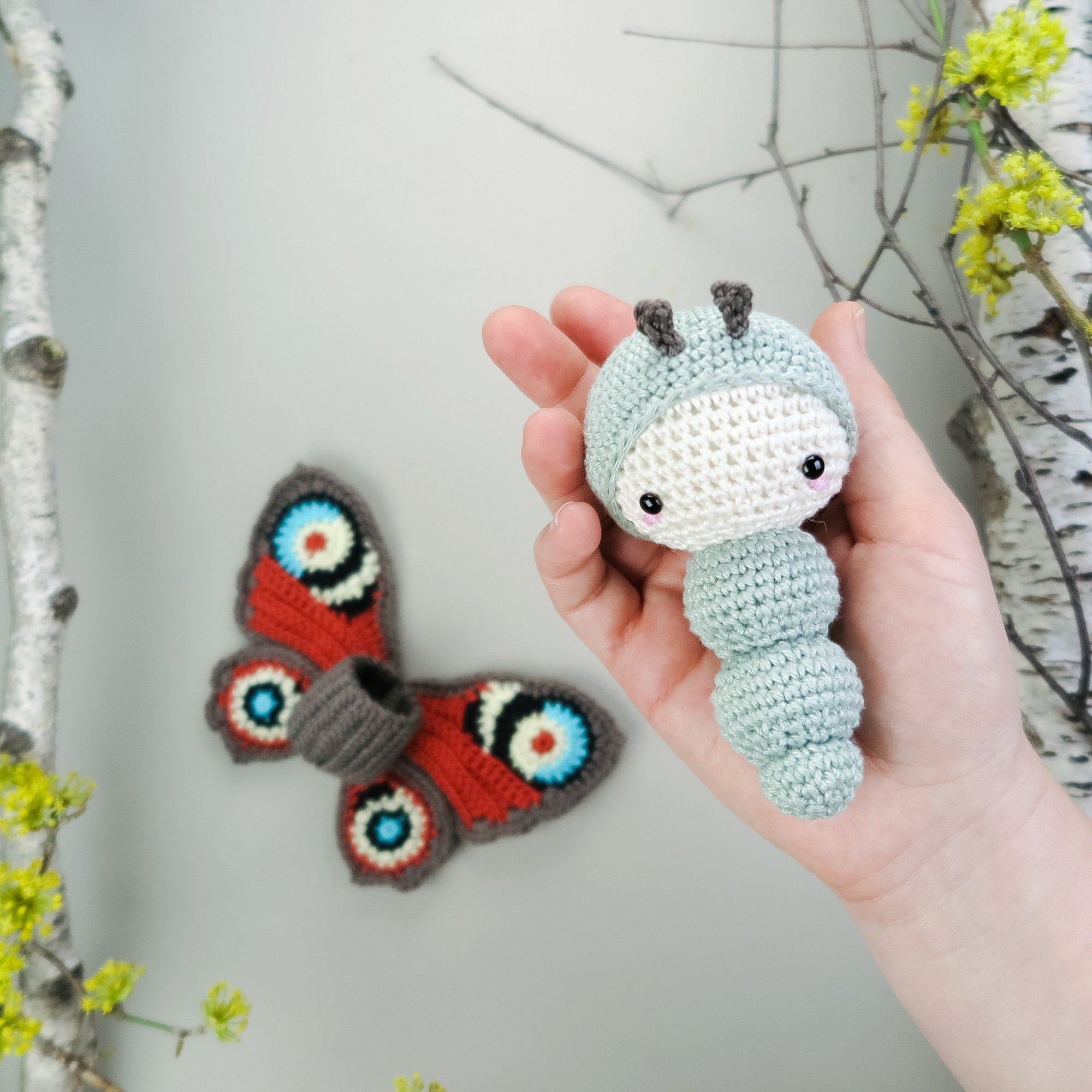 Lalylala 4 seasons EASTER Crochet pattern by lalylala | Amigurumi ... | 2000x2000