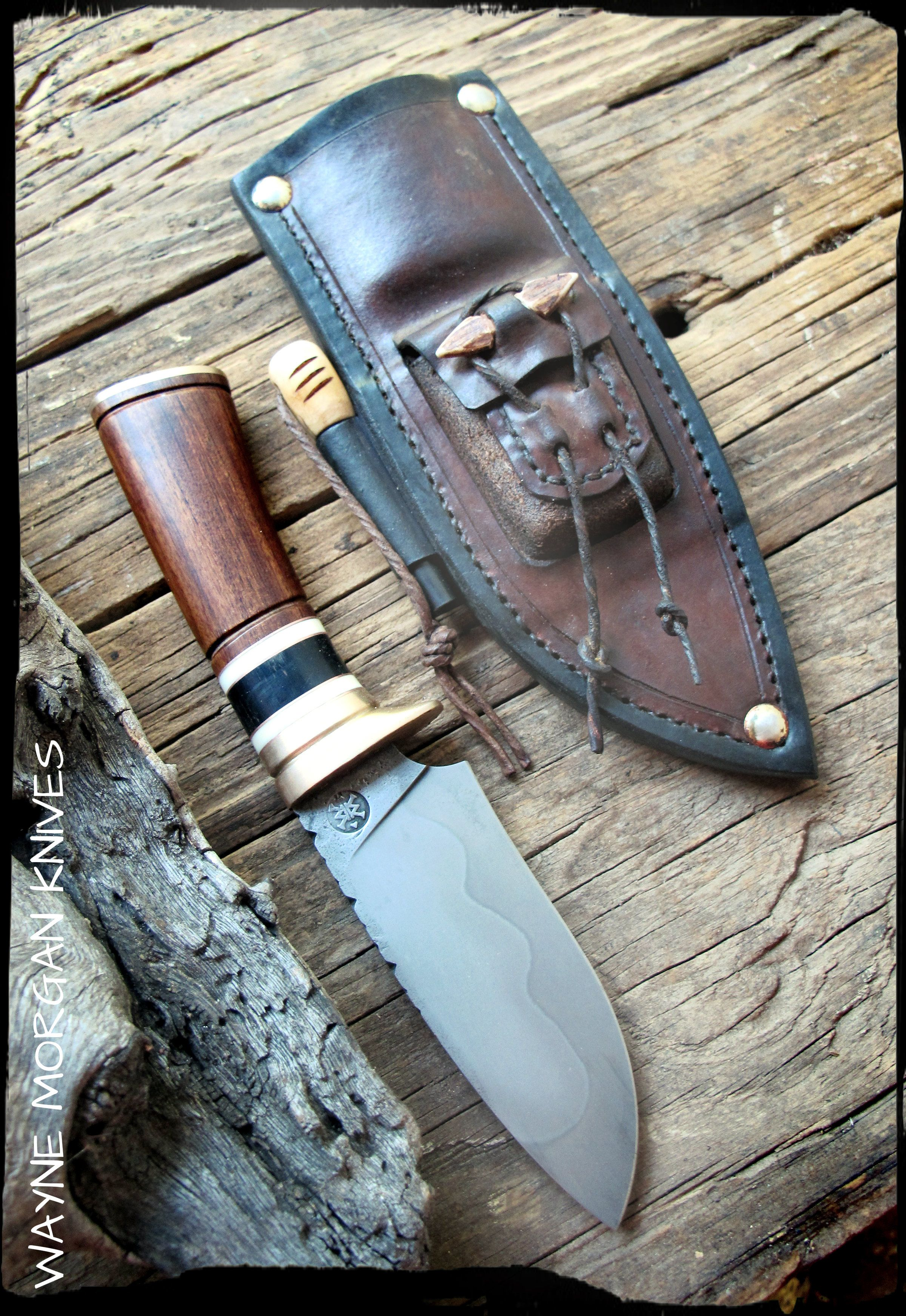Wayne Morgan - Survival Knives.