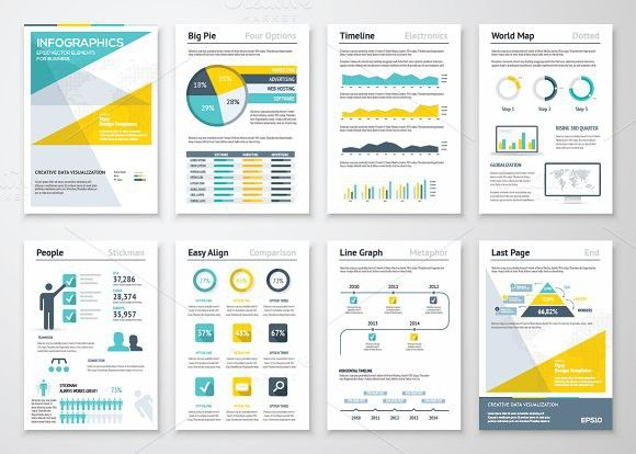 Infographic Brochures 4. Business Infographic. $9.00   Business ...