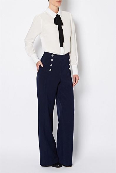 Women's New In   Clothing   Witchery Online - Sailor Pants - Witchery Fashions Pty Ltd Online