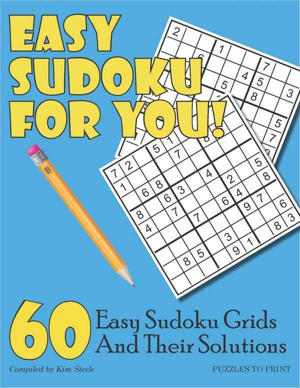 Easy Sudoku For You Printable Pdf Sudoku Printable Puzzles