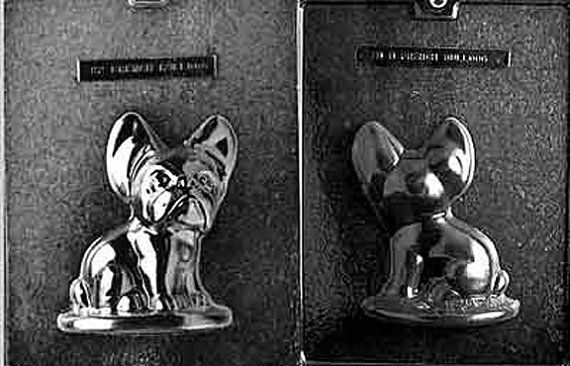 French Bulldog Chocolate Candy Mold with Exclusive by FlavorTools