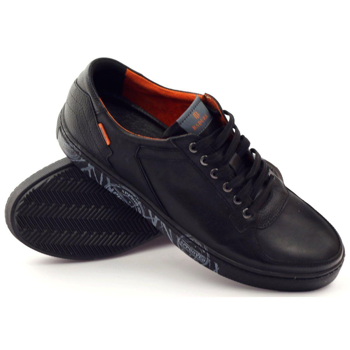 Polbuty Meskie Sportowe Badura 3361 Czarne Black Sports Shoes Sport Shoes Men Sports Shoes