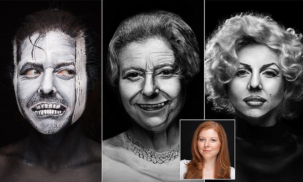 Pin on Face paintings and costumes