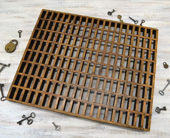 Antique Wooden Floor Grate Cold Air